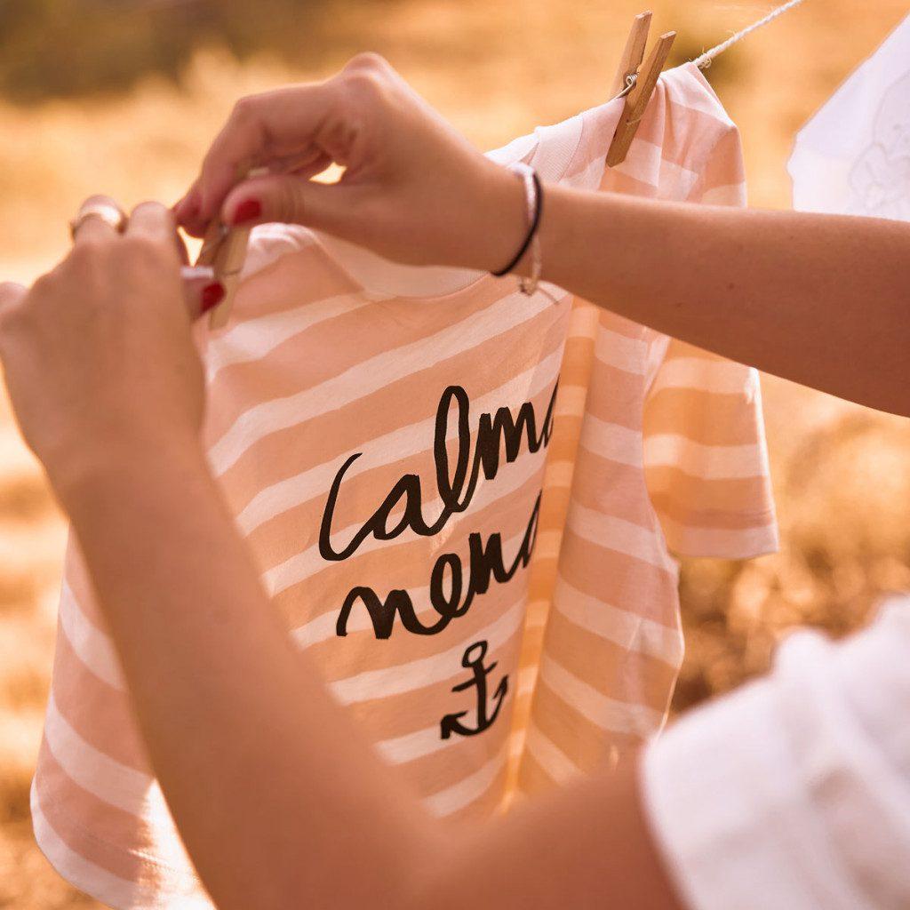 Camiseta Calma nena
